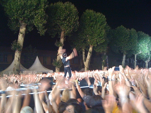 Depeche Mode Carcassonne Gig