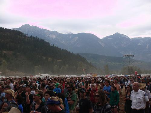 festival backdrop