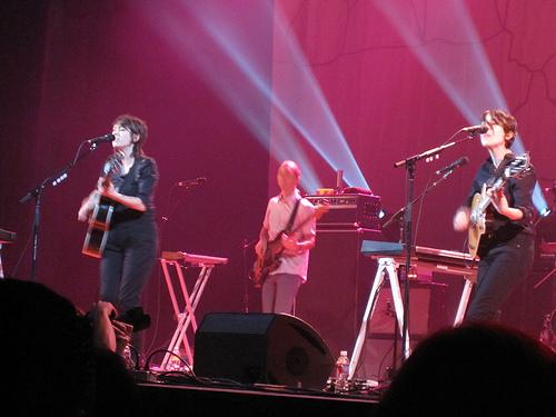 Tegan and Sara @ The Orpheum Theater LA