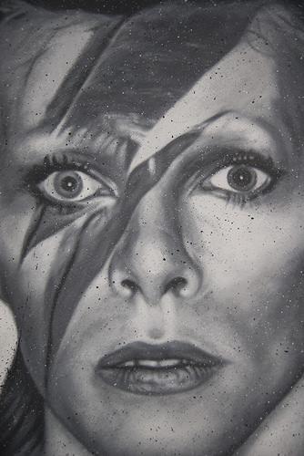 David Bowie, painted portrait _DDC2087